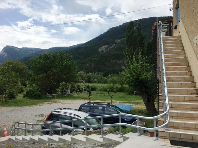 Monte Escaliers Tournant Extérieur - COPAS Accessibilité